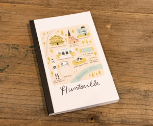 Map of Huntsville Notebook