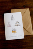 It's Just Rocket Science Stationary Pack by Amanda Owens Art
