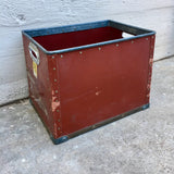 Red Textile Bins