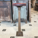 Red-Top Industrial Stool