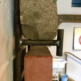 Stamped Brick with Wall Mount