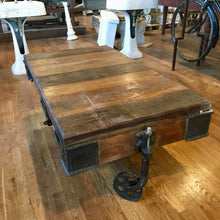 Wheeled Coffee Table