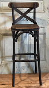 Cross Back Bar Stool, POS