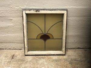 Stained Glass Square Window