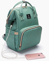 backpack with charging port