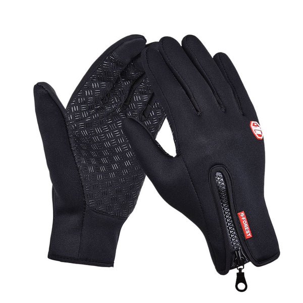Simulated Leather Soft  Warm Gloves