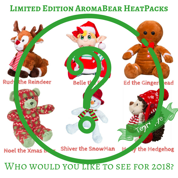 AromaBearapy- Shiver the Snowman Christmas 2018