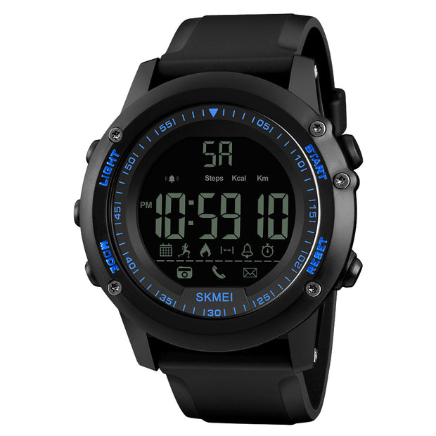 Cam's Sports Casual Men Smart Watch Intelligent Male Watches 5ATM Water-resistant Call APP Reminder Remote Camera Sports Tracker BT Smart Bracelet