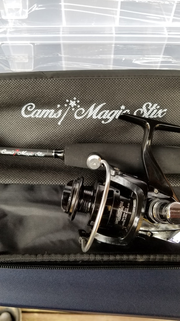 Cam's (Black Onyx) Magic Stik 6'0 Spinning Combo