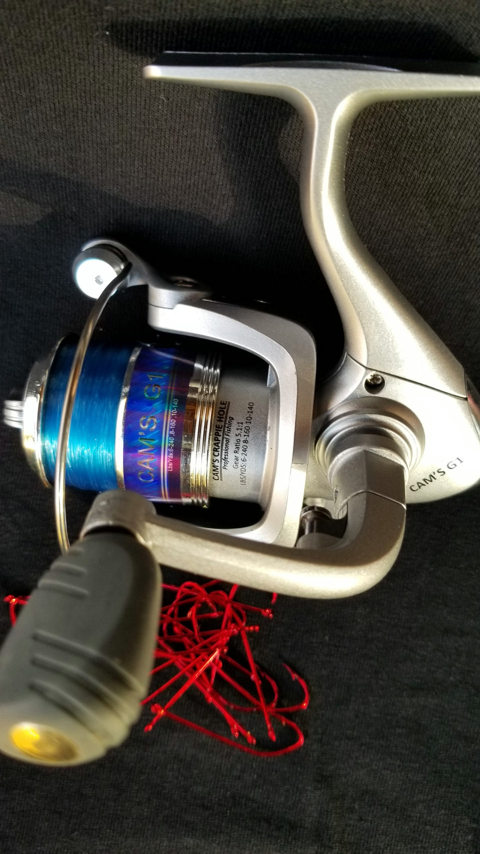 Cam's Silver & Blue G-1 Reel 3 Ball Bearings (Only)