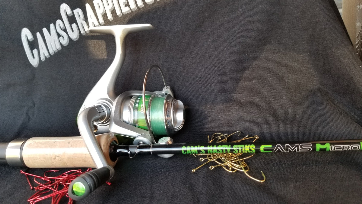 "Cam's ""Emerald"" Nasty Stik MicroLite Rod and Reel Combo"