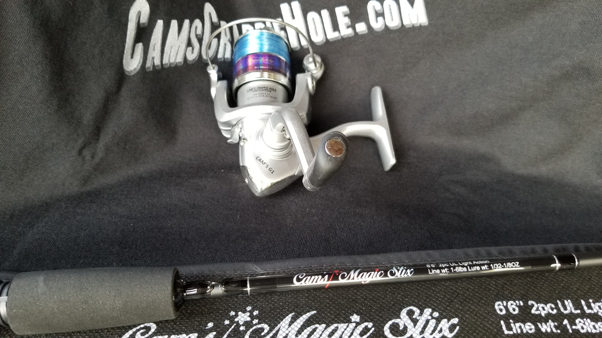 "Cam's Magic Stik 6'6"" Spinning Combo"