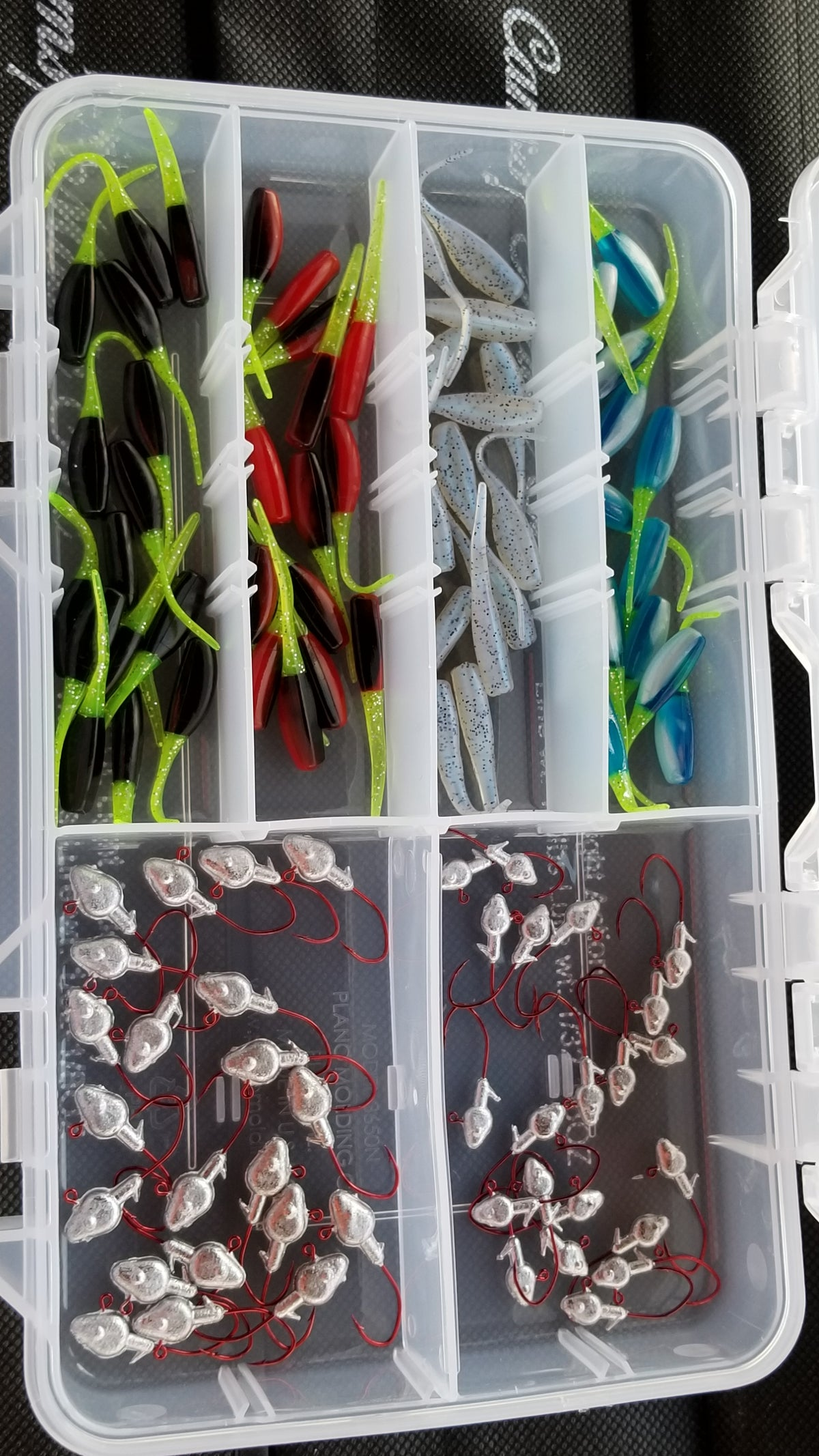 Cam's Nasty Bend Hook Stinger Shad Assortment Package (NO SUBSTITUTIONS)