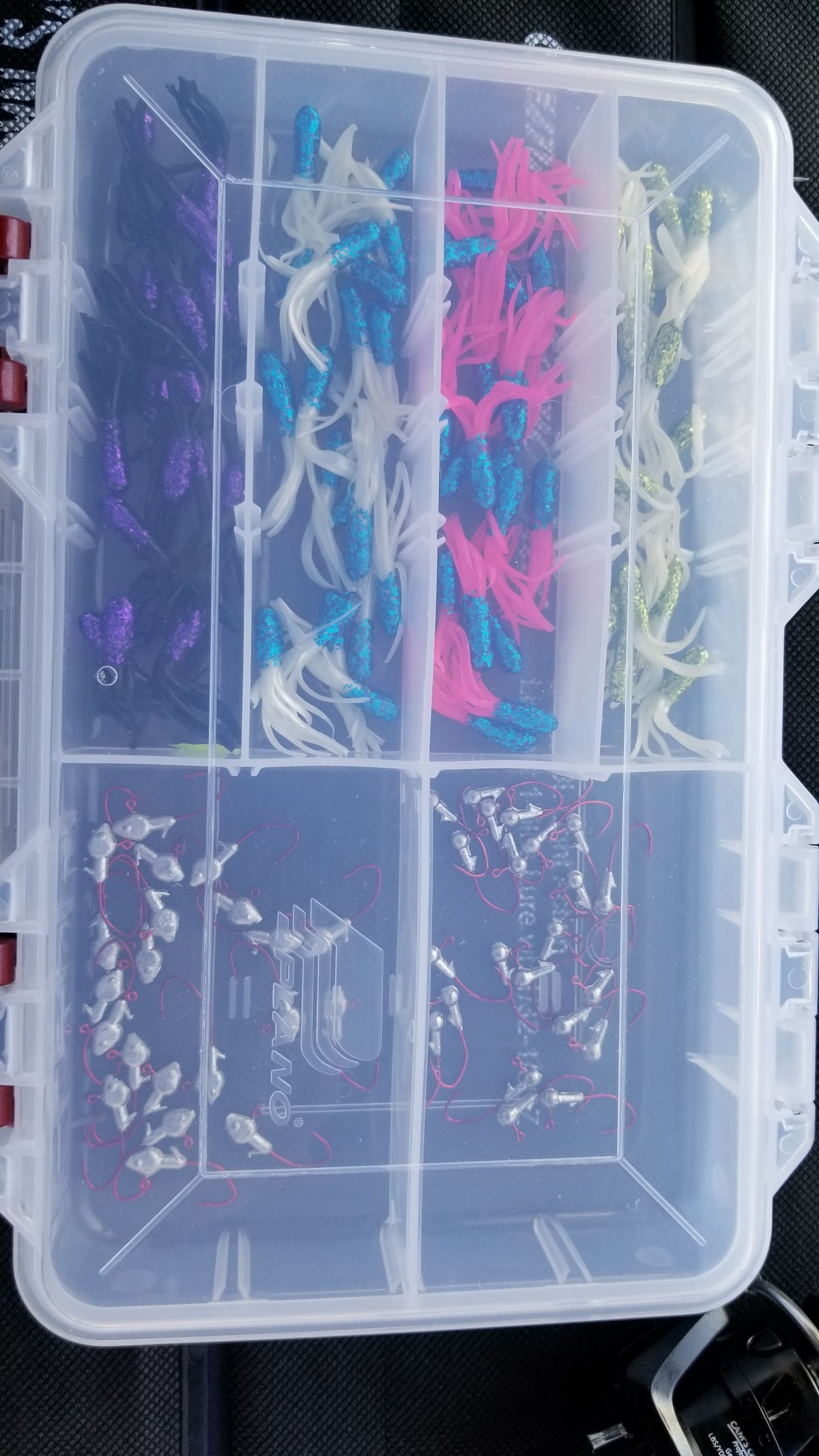 "Cam's 1.5 inch ""Muddy Water"" Tube Assortment Package (NO SUBSTITUTIONS)"