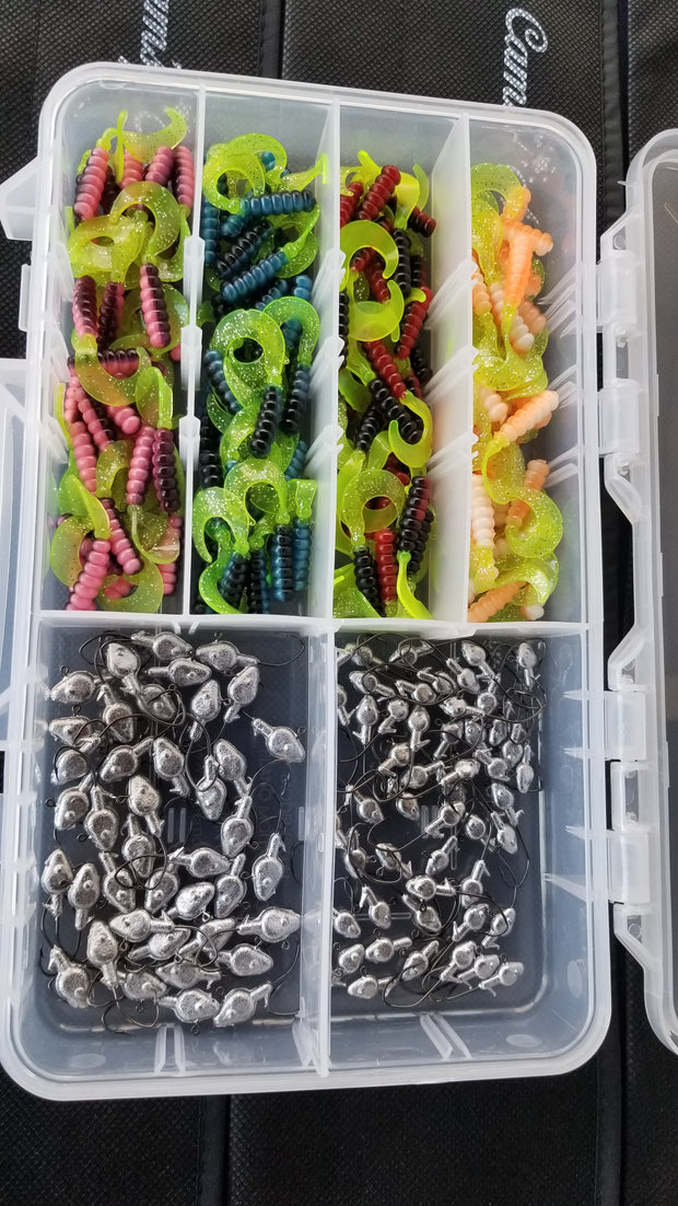 Cam's All Day Fishermen Curly Tail Grub Assortment Package