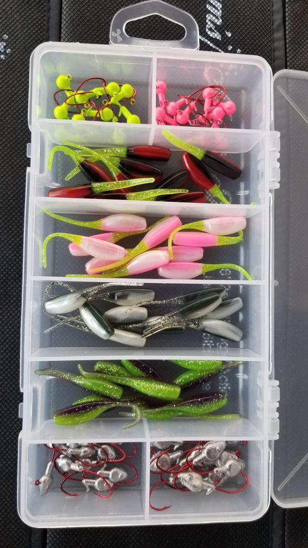 Cam's Complete Stinger Shad Starter Assortment Package Kit