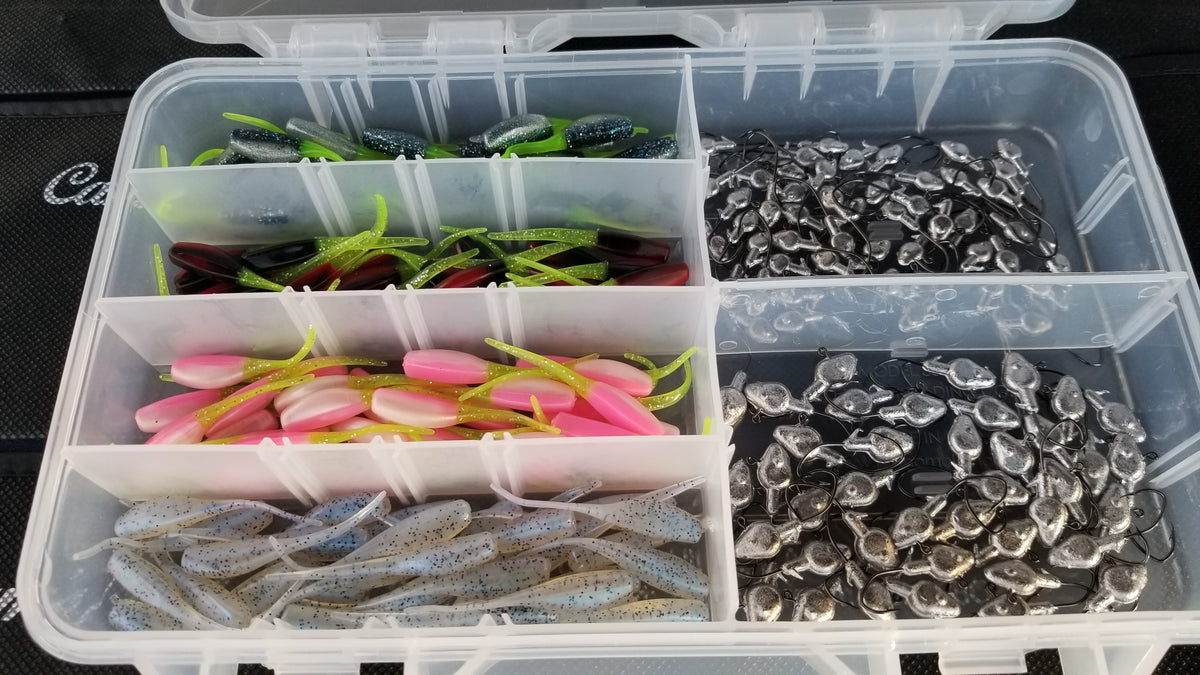 Cam's All Day Fishermen Stinger Shad Assortment Package
