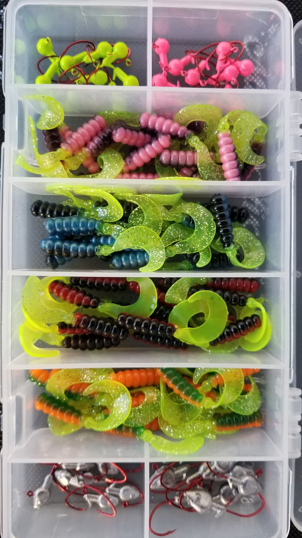 Cam's Complete Curly Tail Starter (80 piece) Assortment Kit (NO SUBSTITUTIONS)