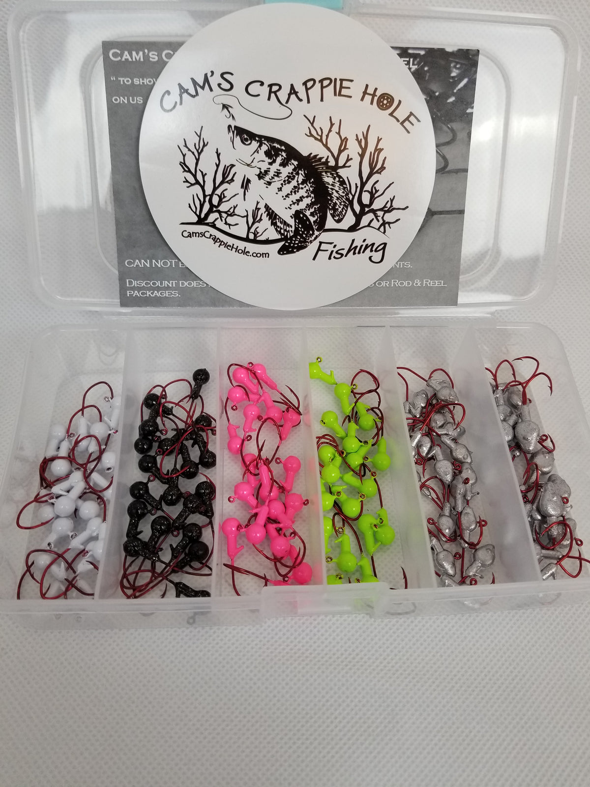 "Cam's 60pc. Hand Painted Assortment ""Nasty Bend Hooks"" Kit"