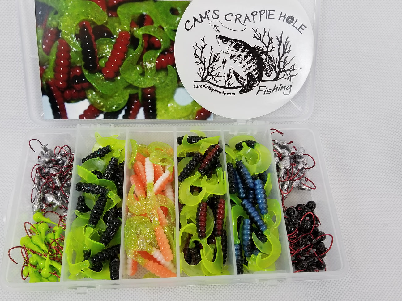 2021 New Cam's Complete Curly Tail [Hologram Flake] Starter Assortment Package Kit