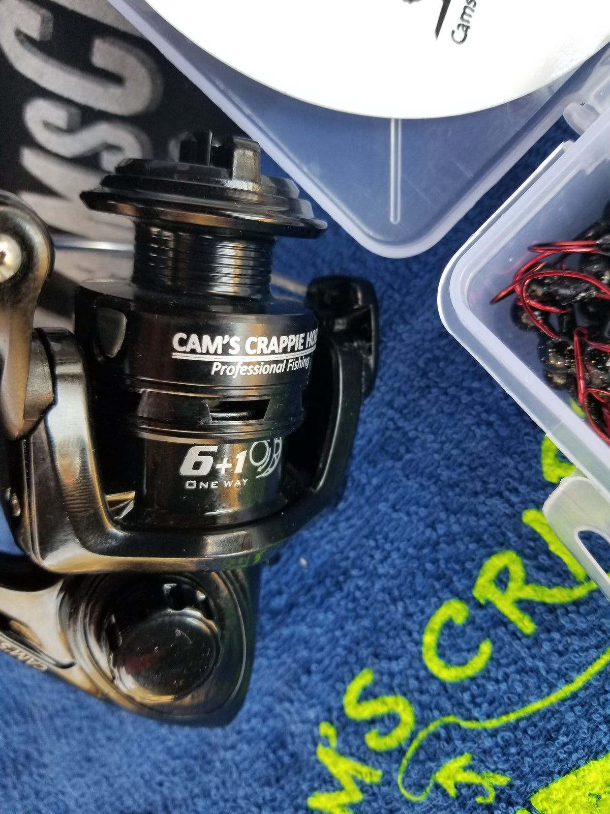 "Cam's  NEW 2021 ""SPRING"" The Raven Complete 6ft. [BlackBird] Xtralite 7 (BB) Ball Bearing Reel Curly Tail Combo Special"