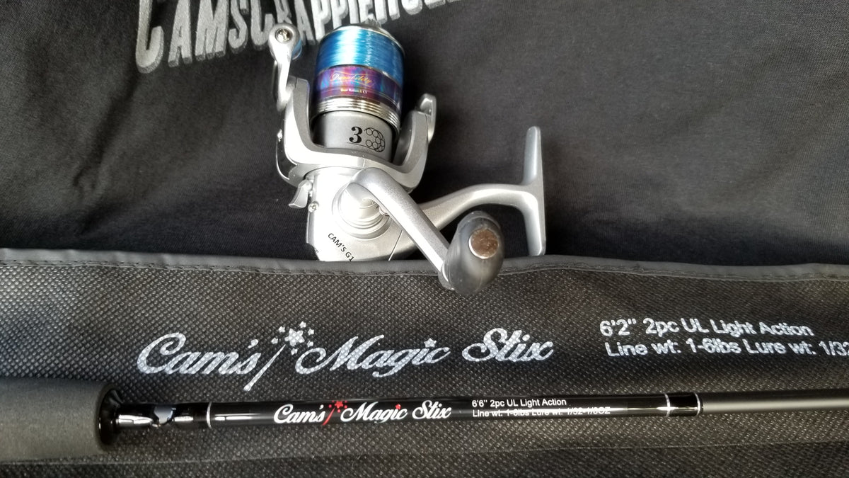 "Cam's Magic Stik 6'2"" Spinning Combo"