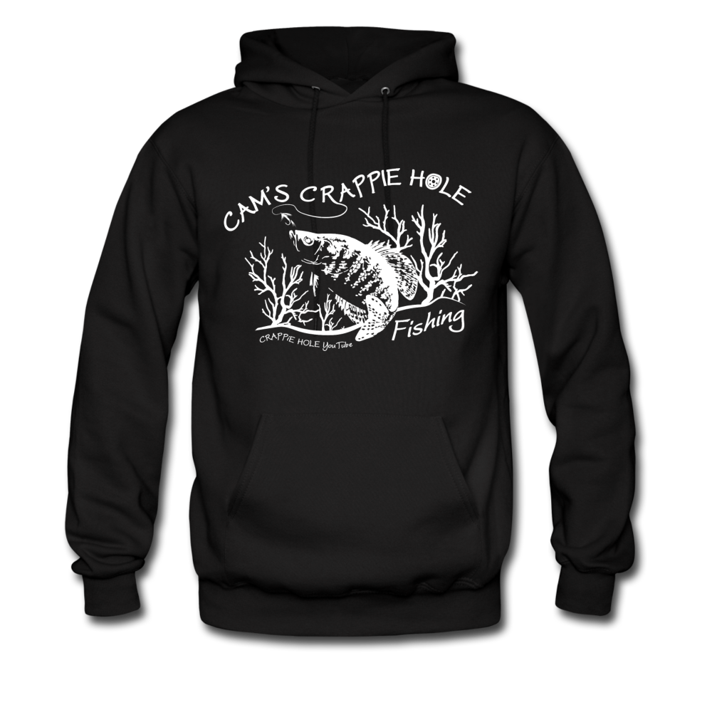 "Black ""Cam's Crappie Hole"" Hoodie"