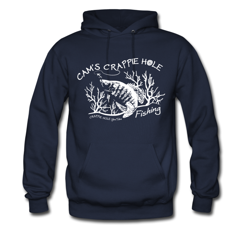 "Men's Blue ""Cam's Crappie Hole""Hoodie"