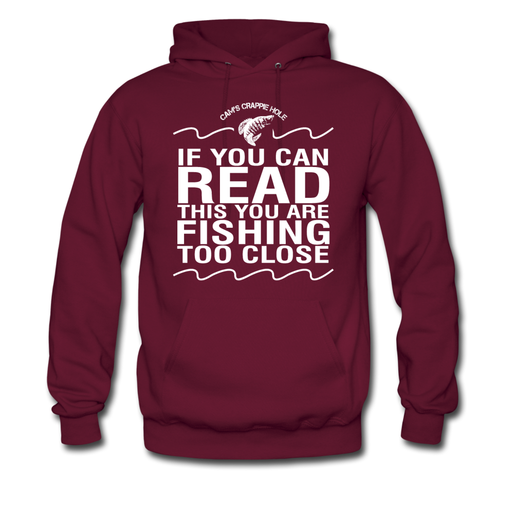 "Cam's Maroon ""You Can Read This"" Hoodie"