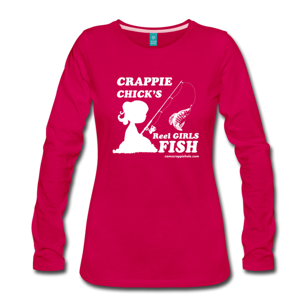 Women's Reel Girls Fish Long Sleeve Comes In 4 Different Colors