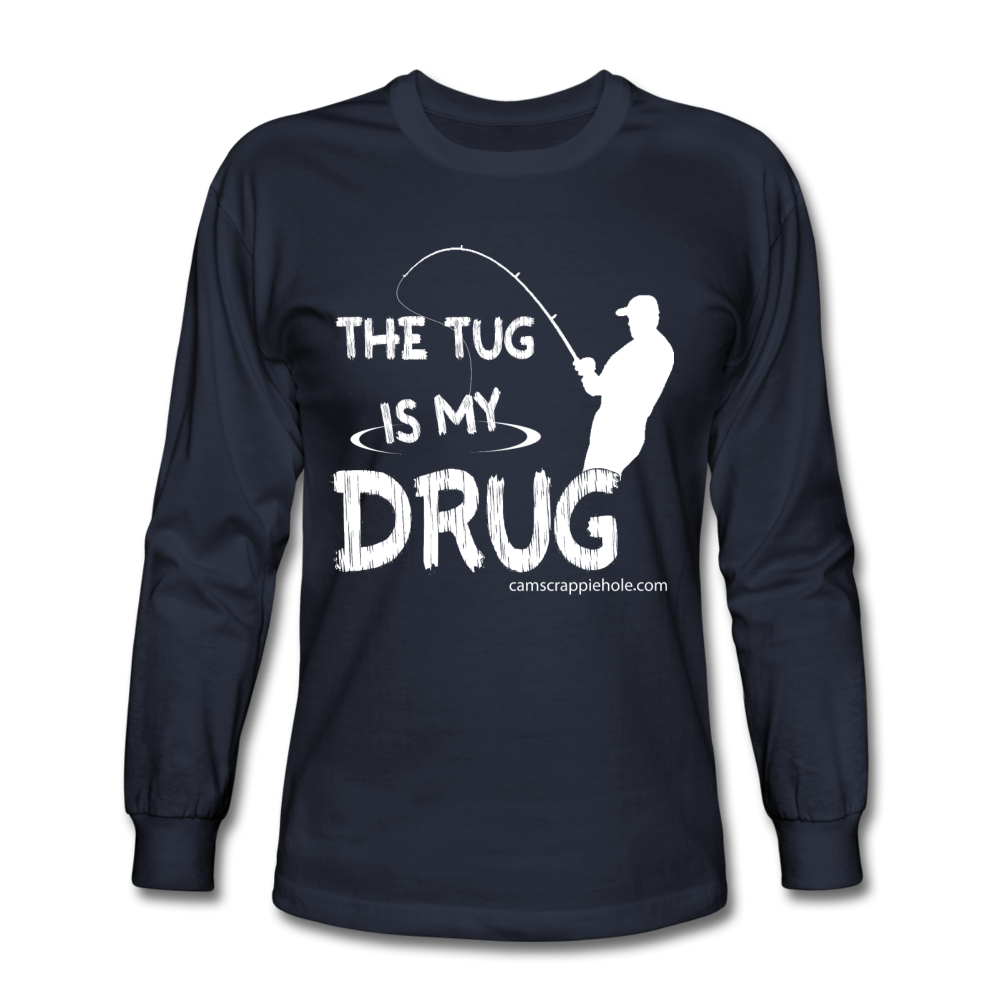 "Men's ""The Tug"" Long Sleeve Comes In 4 Different Colors"
