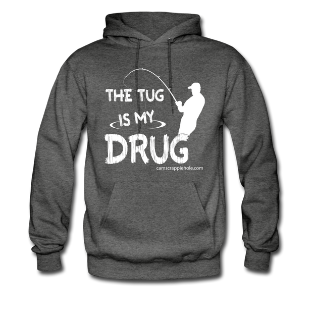 "Men's Asphalt Gray ""The Tug""Hoodie"