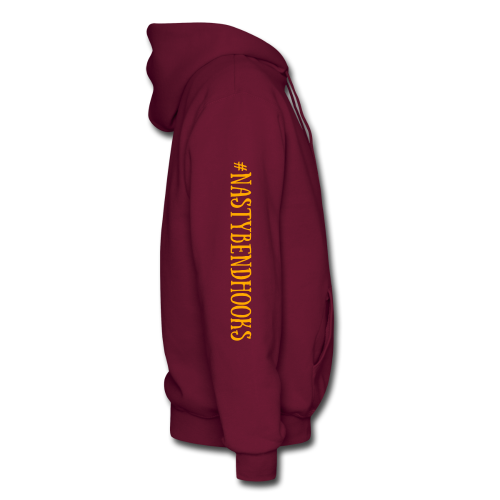 "Cam's Maroon/Orange "" If You Can Read This"" Hoodie"