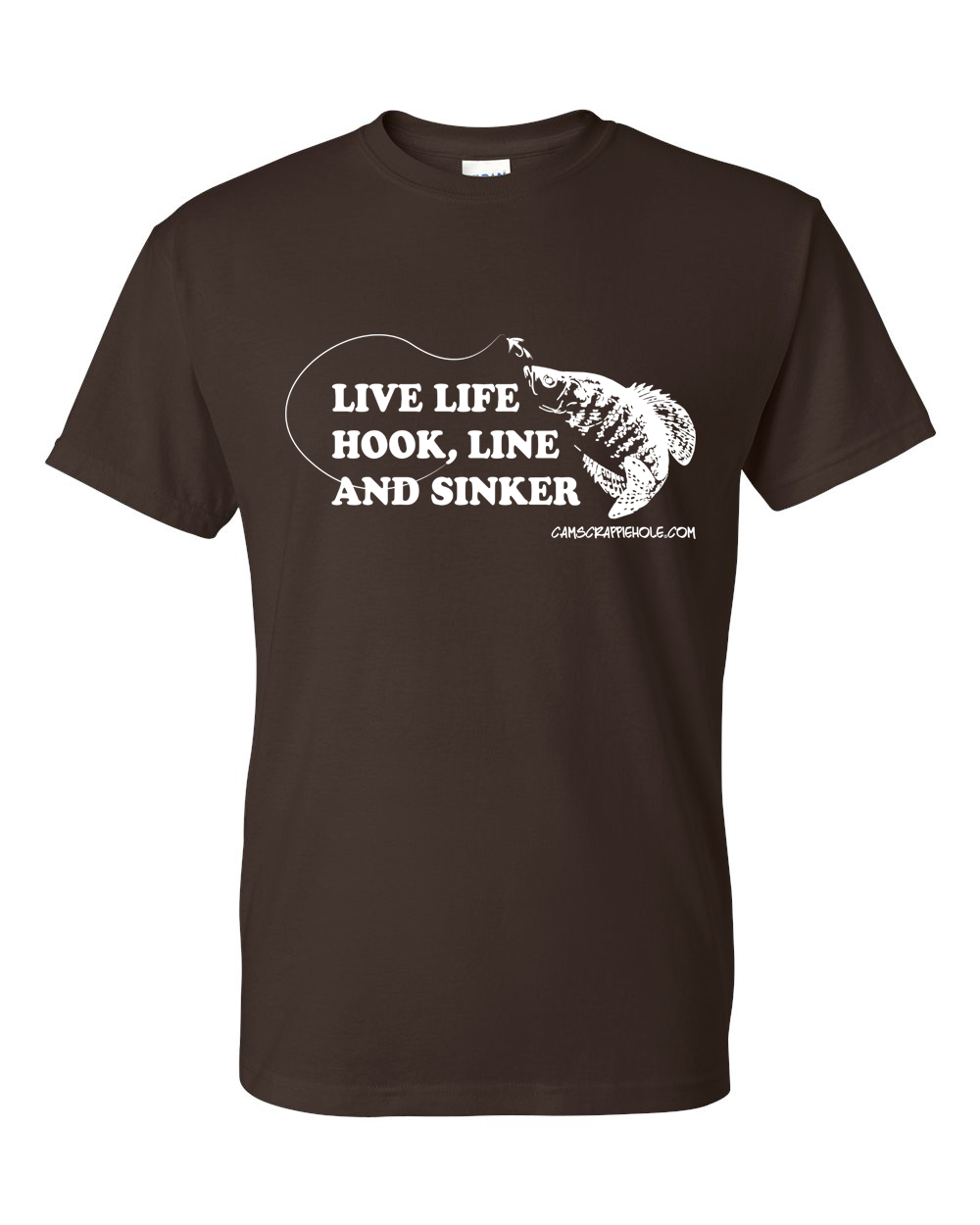 "Cam's ""Chocolate"" Live Life Short Sleeve T-Shirt"