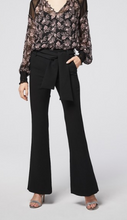 FAIRBANKS STRETCH CREPE HI WAIST FLARED LEG PANT