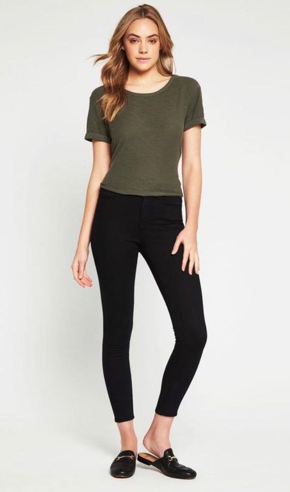 Alissa Ankle Skinny Double Black