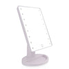 360 Degree Rotation Touch Screen Make Up Mirror With LED Lights