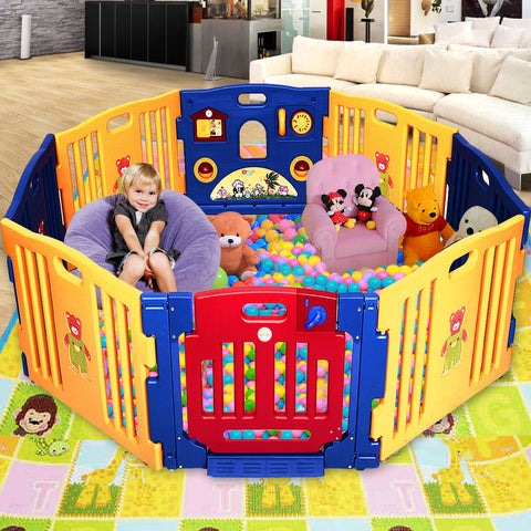 Baby Playpen Safety™ - 8 Panel Foldable