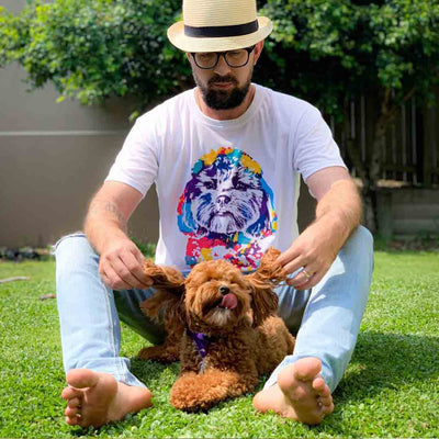 Custom Pet Men's T-shirt - BoomPup