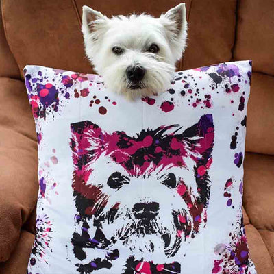 Custom Pet Throw Pillow - BoomPup