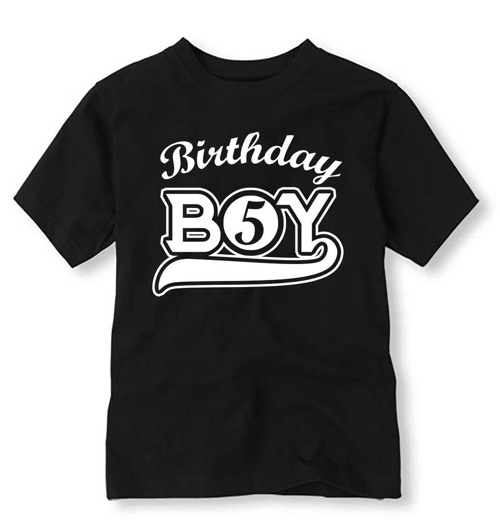 Sports Birthday Shirt Personalized Baseball With Age