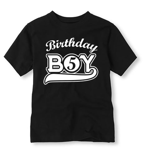 Sports Birthday Shirt, Personalized Baseball Birthday Shirt with Age