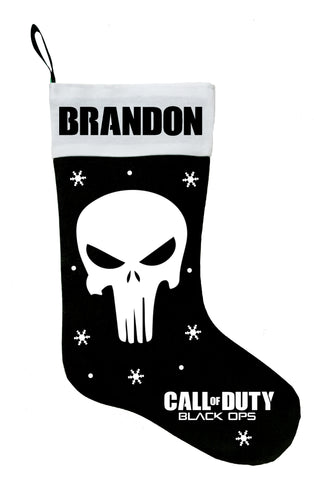Call of Duty Christmas Stocking, Call of Duty Stocking, Call of Duty Gift Idea, Call of Duty Christmas Gift
