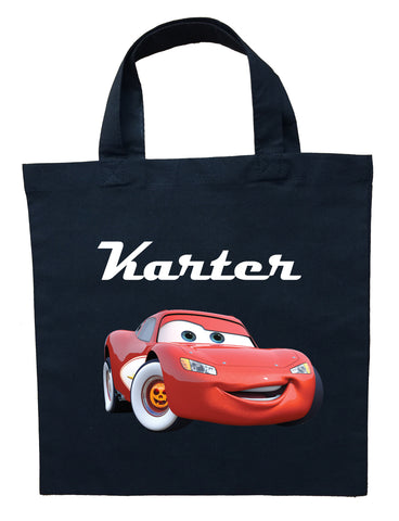 Lightning McQueen Trick or Treat Bag - Personalized Cars Halloween Bag