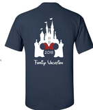 Disney Vacation Family T-Shirts | Double Sided and Personalized
