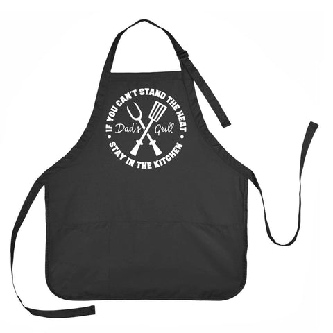 Dads Grill Apron, Dad's Grilling Apron, Father's Day Apron