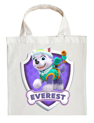 Paw Patrol Everest Trick or Treat Bag - Personalized Everest Halloween Bag