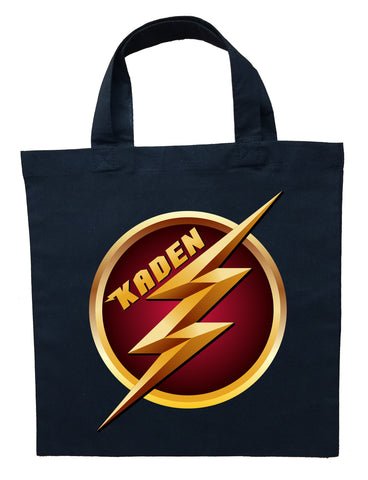 The Flash Trick or Treat Bag - Personalized Flash Halloween Bag