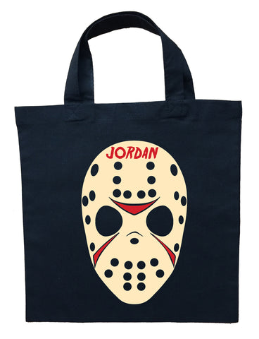 Friday the 13th Trick or Treat Bag - Personalized Jason Halloween Bag