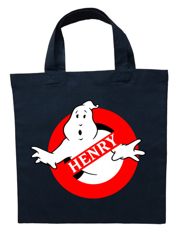 Ghostbusters Trick or Treat Bag, Personalized Ghostbusters Halloween Bag, Ghostbusters Candy Bag, Ghostbusters Loot Bag